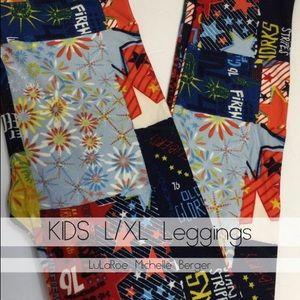 LuLaRoe Kids L/XL Leggings